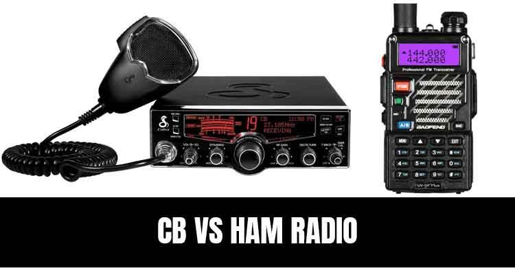 cb vs ham radio