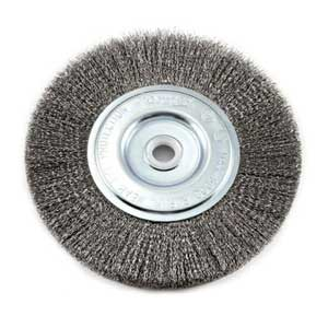 Forney 72747 Wire Bench Wheel Brush
