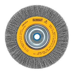 DEWALT Wire Wheel, Crimped, 6-Inch