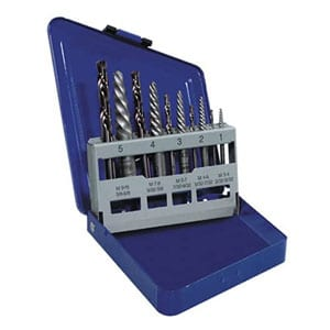 IRWIN Screw Extractor/ Drill Bit Set, 10-Piece