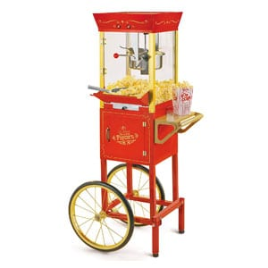 Nostalgia Concession Popcorn Machine With Cart
