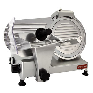 Carbon Steel Blade Electric Meat Slicer for Bacon