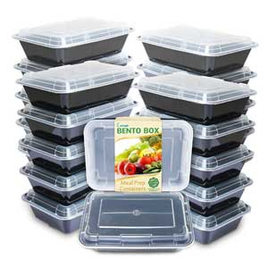 Enther Freezer To Microwave Containers | Reusable Lunch Boxes