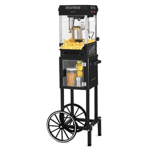 Nostalgia Popcorn Machine With Cart with 5 Quart Bowl
