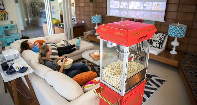 Best Popcorn Machine For Home Theater