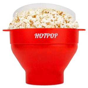 Collapsible Popcorn Bowl Bpa Free and Dishwasher Safe- 17 Colors Available