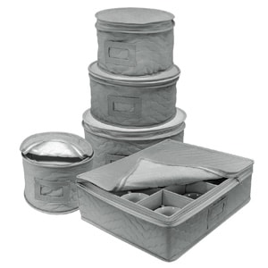 Sorbus Dinnerware China Storage Containers Set for Protecting Dinnerware