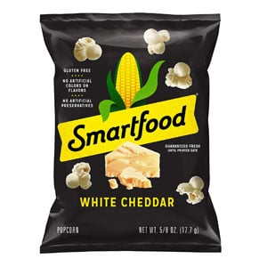 Smartfood White Cheddar Flavored Popcorn For Weight Loss