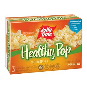 Jolly Time Healthy Popcorn For Weight Loss 94% Fat Free