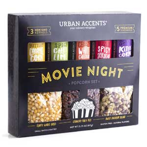 Urban Accents Popcorn Gift Variety Pack