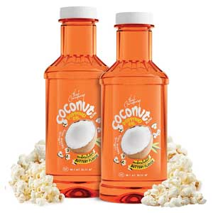 Coconut Popcorn Popping and Topping Oil